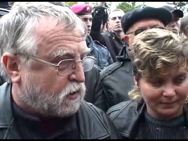Акция КПИ против ИПА парк Шевченко
