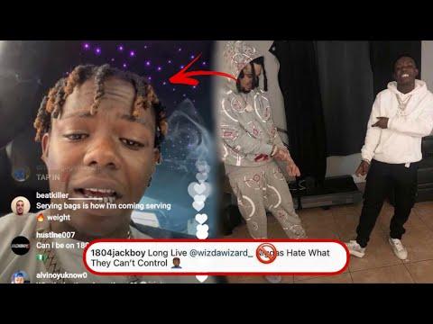 JackBoy Responds To Wiz Da Wizard Getting K!ll3d & Says He Was 🐍!?