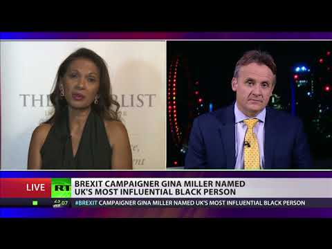 Gina Miller named UK's most influential black person