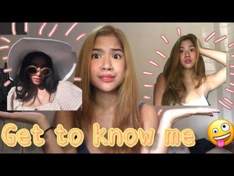 get to know me- WATCH IN HD!!   Yvonne Almocera (Philippines)