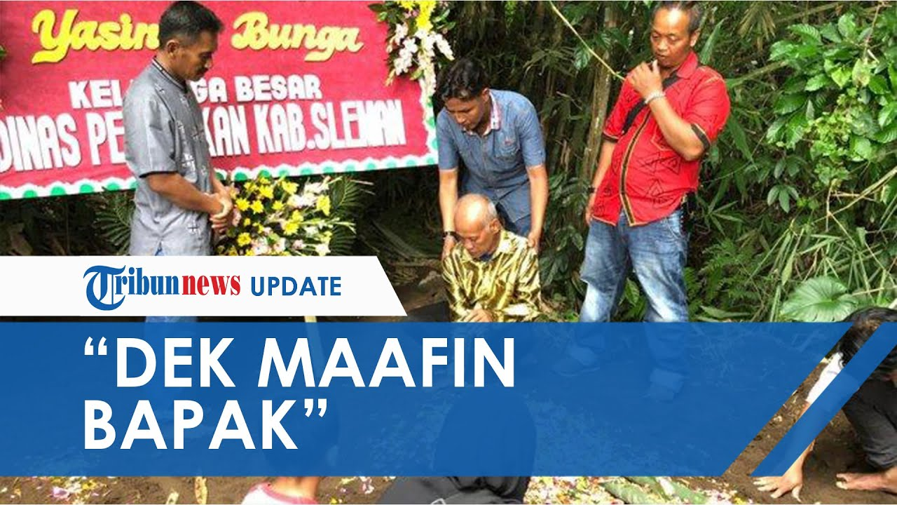 Momen Haru di Pemakaman Siswi SMPN 1 Turi Yasinta Bunga, sang Ayah: Dek, Maafin Bapak Ya