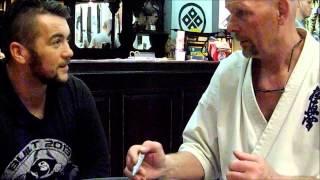 Gerard Gordeau UFC 1 Finalist Interview Den Haag Holland Royce Gracie