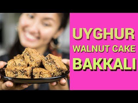 Walnut Cake Recipe   Uyghur Dessert    Raisin Cake Recipe