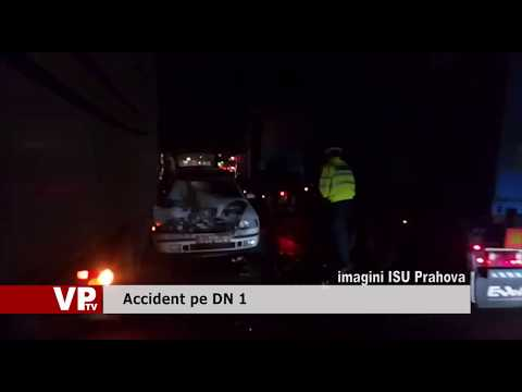 Accident pe DN 1