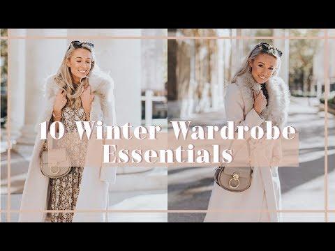 10 WINTER WARDROBE ESSENTIALS // Fashion Mumblr