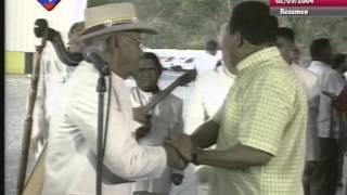 Chávez canta con Eneas Perdomo, Valentín Carucí y Los Copleros del Camino desde Tazón