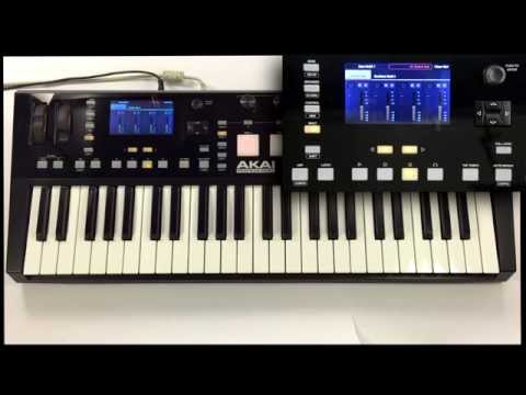 Akai Pro Advance Keyboards - Using with Native Instruments Komplete