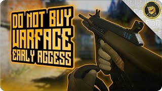 Do Not Buy Warface Early Access on PS4