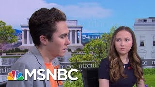 Hogg Siblings, Lauren And David, On How Activism Helps With Healing | Morning Joe | MSNBC