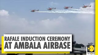 Rafale induction ceremony held at Ambala airbase | French Defence Minister at the ceremony