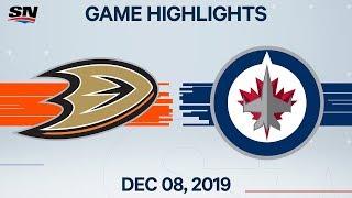 NHL Highlights   Ducks vs. Jets – Dec. 8, 2019