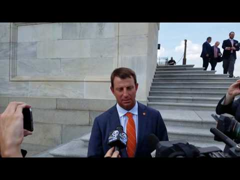 TigerNet.com - Dabo Swinney at the Capitol