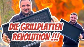 JEDER HERD WIRD ZUM GRILL - Meine GRILLPLATTE ändert ALLES !!! --- Klaus grillt