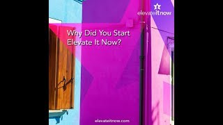 Why Monica Malave Started Elevate It Now – My Awww Moment.
