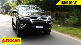 Toyota Fortuner | India Drive | Autocar India