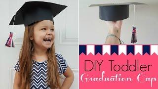 DIY Toddler Graduation Cap