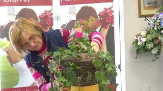 Hanging Baskets Using Artificial Flowers