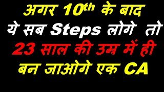 How to become a CA after 10th | CA Course detail | CA banne k liye kya kare | CA kaise bane