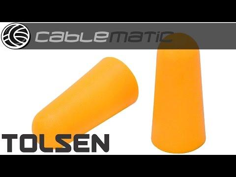 Tapones de espuma para los oidos de herramientas Tolsen® distribuido por CABLEMATIC ®