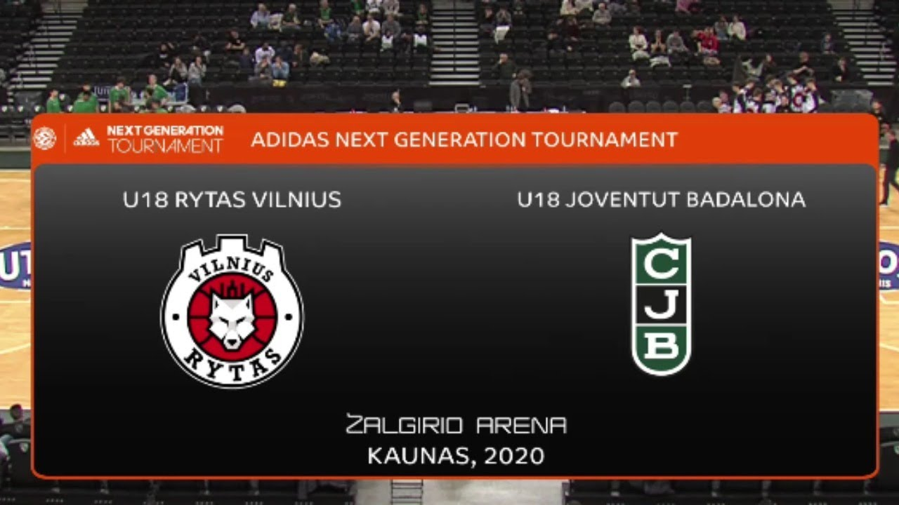 U18 - RYTAS VILNIUS vs JOVENTUT BADALONA.- Euroleague. Adidas Next Generation Tournament (Kaunas 20)