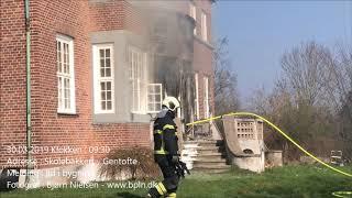 30.03.2019 – Voldsom brand i villa – Gentofte