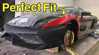 Rebuilding a Salvage Lamborghini Frame Using Scrap Aluminum Saved Us Over $3000