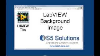 LabVIEW Background Image