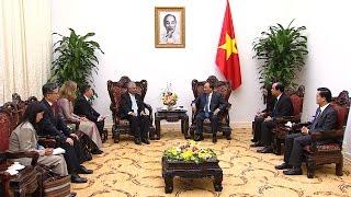Thủ tướng Nguyễn Xuân Phúc tiếp đoàn Phòng Thương mại và Công nghiệp Nhật Bản