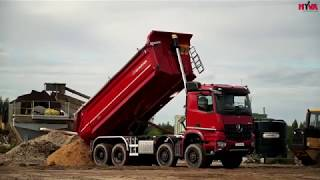 New Mercedes AROCS  Tipper