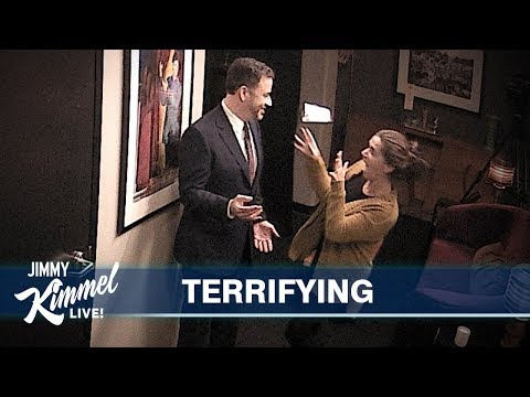 Jimmy Kimmel Pranks Staff with His Wax Figure