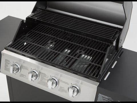 Review: Dyna-Glo 4-Burner Open Cart LP Gas Grill in Black Model#  DGF493BNP