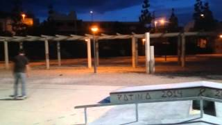 preview picture of video 'MONTAJE   SKATE   TOTANA   2014   DESTRUCTORESCUBICOS'