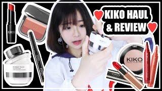 ▸很燒的KIKO HAUL & REVIEW!!    肥蛙 mandies kwok