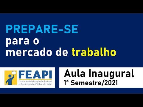Prepare-se para o mercado de trabalho - Aula Inaugural (2021/1)
