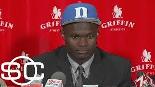 Zion Williamson explains reason for committing to Duke   SportsCenter   ESPN