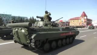 Парад Победы в Белогорске 9 мая 2017 г