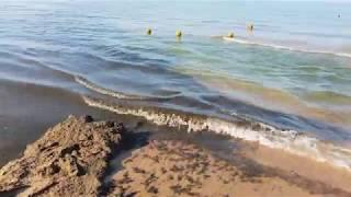 Черное море 7.30 утра 24.07.2018... Жесть продолжается Анапа Витязево Джемете
