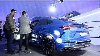 Fastest 4x4 in the World- Lamborghini Urus Launch!
