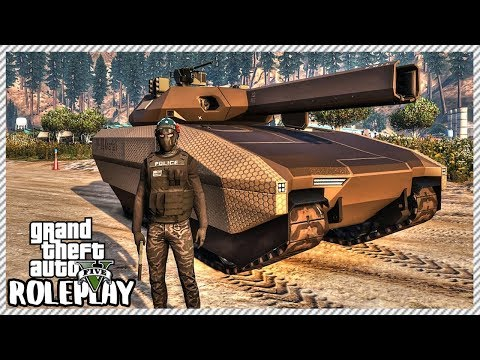 GTA 5 Roleplay - STEALING TANK FROM MILITARY | RedlineRP #596