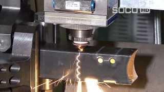 Автоматическая система лазерной резки труб и профиля SOCO SLT-152. Fiber Laser с ЧПУ