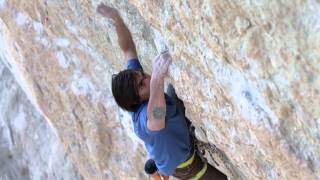 BD Athlete Sam Elias Makes First Ascent of American Hustle (5.14b) in Oliana, Spain