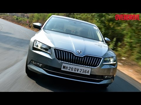 2016 Skoda Superb first drive review
