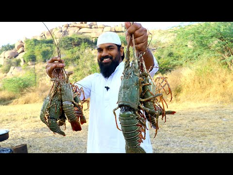 King Size Lobster Recipe /Butter-Poached Maritime Lobster  | Lobster Recipe | Nawabs Kitchen