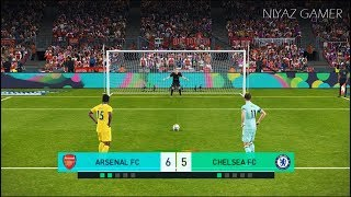 ARSENAL vs CHELSEA FC | Penalty Shootout | PES 2018 Gameplay PC