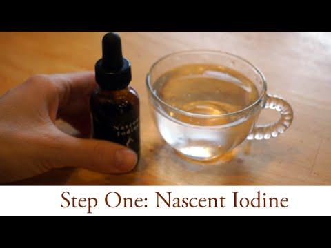 STEP1: Healthy Cells (3/5): Nascent Iodine // Iodine
