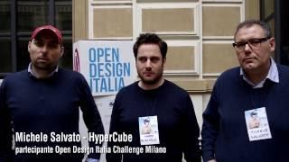 Michele Salvato - partecipante Open Design Italia Challenge Milano