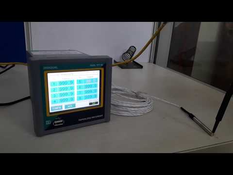TFT Touch Screen Data Logger