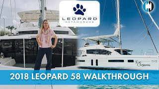 Used Sail Catamarans for Sale 2018 Leopard 58