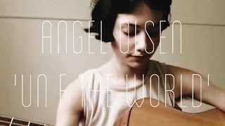 Angel Olsen - Unf---theworld cover