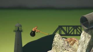 Clip of Getting Over It with Bennett Foddy